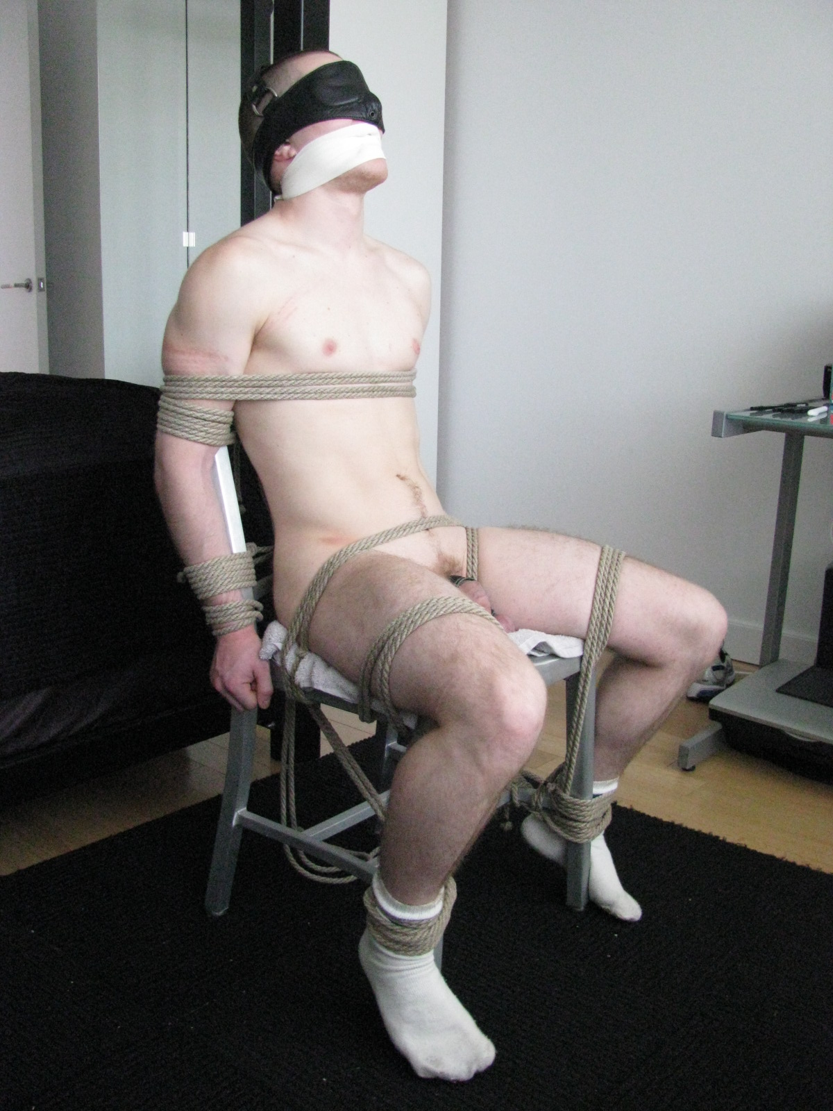 bondage chair big cock